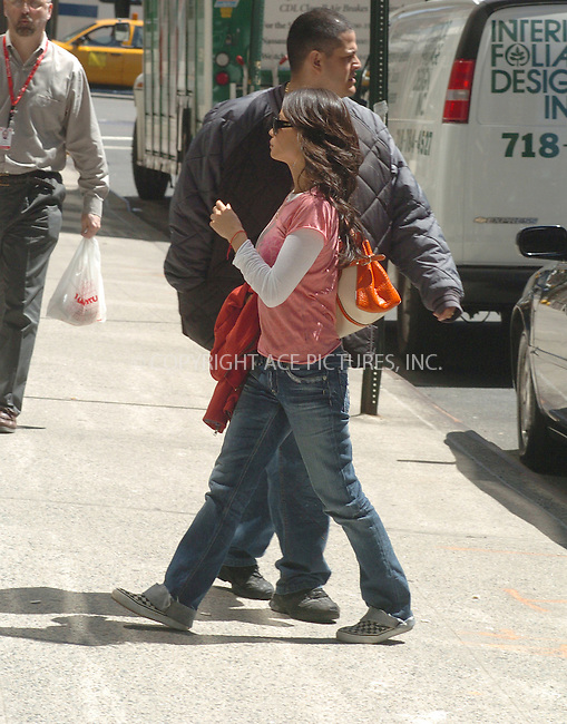 WWW.ACEPIXS.COM ** ** **EXCLUSIVE!!! FEE MUST BE NEGOTIATED!!!....NEW YORK, APRIL 21, 2005....Lucy Liu goes shopping in the West Village. Shortly after she heads to the United Nations as Ambassador for UNICEF. When leaving the United Nations building, Lucy Liu gives out a round of heartfelt hugs.....Please byline: Philip Vaughan -- ACE PICTURES... *** ***  ..Ace Pictures, Inc:  ..Craig Ashby (212) 243-8787..e-mail: picturedesk@acepixs.com..web: http://www.acepixs.com