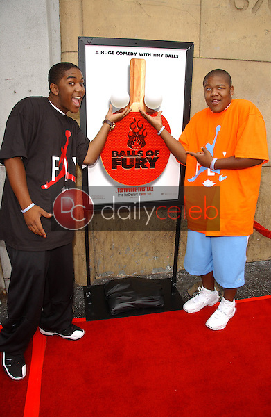 Christopher Massey and Kyle Massey<br />