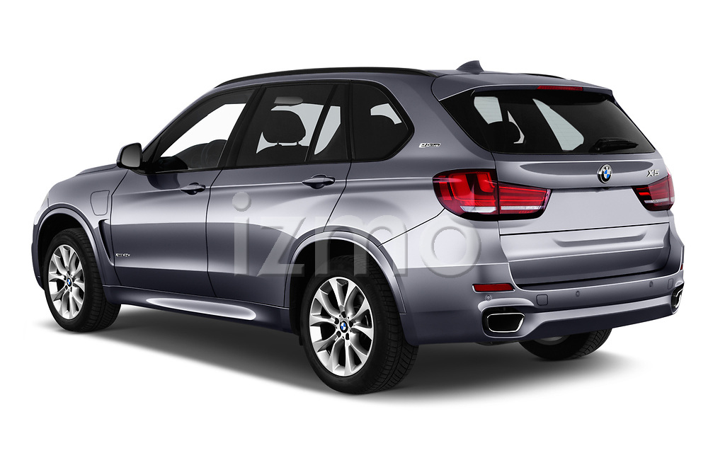 Car pictures of rear three quarter view of a 2018 BMW X5 Plug-in Hybrid iPerformance 5 Door SUV angular rear
