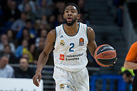 Real Madrid Chasson Randle during Turkish Airlines Euroleague match between Real Madrid and Crvena Zvezda at Wizink Center in Madrid, Spain. December 01, 2017. (ALTERPHOTOS/Borja B.Hojas) /NortePhoto.com NORTEPHOTOMEXICO