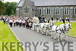 Pa O'Brien funeral leaving St Marys Cathedral on Monday