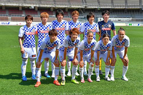 ォソャ シケ/Mynavi Vegalta Sendai Ladies team group line-up (Vegalta Ladies), <br /> JUNE 17, 2017 - Football / Soccer : <br /> Plenus Nadeshiko League Cup 2017 Division 1 <br /> match between Urawa Reds Ladies 0-0 Vegalta Sendai Ladies <br /> at Saitama Urawa Komaba Stadium in Saitama, Japan. <br /> (Photo by MATSUO.K/AFLO SPORT)