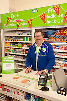 Pictured is Dispensing Assistant Sam Maxwell at Newark ASDA