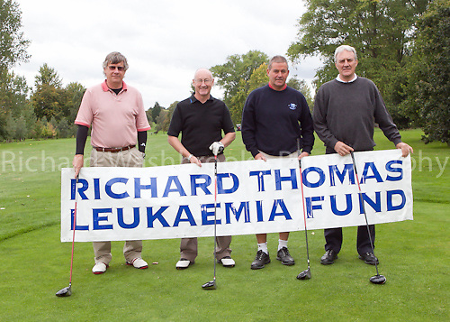 Richard Thomas Leukaemia Fund Golf Day at Hammonds End Golf Club  7th September 2011