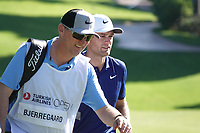 Lucas Bjerregaard (DEN) during the first round of the Turkish Airlines Open, Montgomerie Maxx Royal Golf Club, Belek, Turkey. 07/11/2019<br /> Picture: Golffile | Phil INGLIS<br /> <br /> <br /> All photo usage must carry mandatory copyright credit (© Golffile | Phil INGLIS)