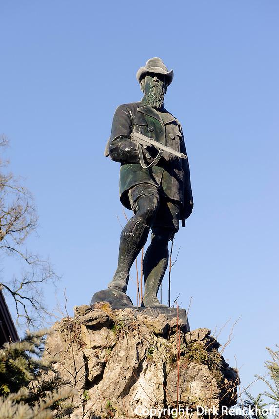 Denkmal von Prinzregent Luitpold von Bayern  in Oberstdorf im Allg&auml;u, Bayern, Deutschland<br /> Monument  Prinzregent Luitpold of Bavaria, Oberstdorf, Allg&auml;u,  Germany