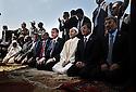 moustapha bdeljalil et Erdogan durant la prière du vendredi sur la place verte/place des martyrs