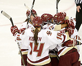 Taylor Wasylk (BC - 9) put BC on the board just 25 seconds into the first period. - The Boston College Eagles defeated the visiting Brown University Bears 5-2 on Sunday, October 24, 2010, at Conte Forum in Chestnut Hill, Massachusetts.