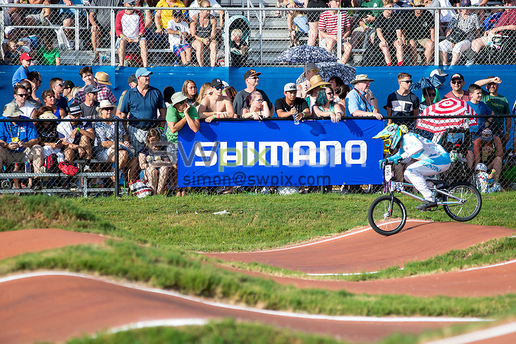 Picture by Alex Whitehead/SWpix.com - 29/07/2017 - Cycling - 2017 UCI BMX World Championships - Novant Health BMX Supercross Track, Rock Hill, USA - Brief. Shimano