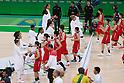 Japan Women's team group (JPN), AUGUST 16, 2016 - Basketball : Women's Quarter-final between USA Women's 110-64 Japan Women's at Youth Arena during the Rio 2016 Olympic Games in Rio de Janeiro, Brazil. <br /> (Photo by Sho Tamura/AFLO SPORT)