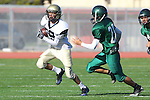 Torrance, CA 10/06/11 - Colton Michel (Peninsula #89) in action during the Peninsula vs South Torrance Frosh football game.