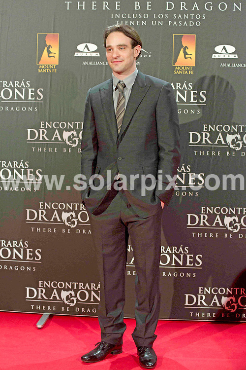 **ALL ROUND PICTURES FROM SOLARPIX.COM**                                             **WORLDWIDE SYNDICATION RIGHTS EXCEPT SPAIN - NO SYNDICATION IN SPAIN**                                                                                  Caption: attends There Be Dragons (Encontraras Dragones) premiere at Capitol cinema in Madrid, Spain. March 23, 2011                                                                    This pic:  Charlie Cox                                                                        JOB REF: 13018 DMS       DATE: 23_03_2011                                                           **MUST CREDIT SOLARPIX.COM OR DOUBLE FEE WILL BE CHARGED**                                                                      **MUST AGREE FEE BEFORE ONLINE USAGE**                               **CALL US ON: +34 952 811 768 or LOW RATE FROM UK 0844 617 7637**