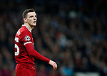 Liverpool's Andy Robertson in action during the Champions League Quarter Final 2nd Leg match at the Etihad Stadium, Manchester. Picture date: 10th April 2018. Picture credit should read: David Klein/Sportimage