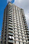 High rise council block of flats Shoreditch East London UK