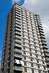 High rise council block of flats Shoreditch East London UK