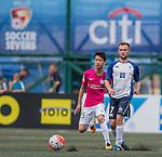 HKFC Captain's Select vs Kitchee during the Main tournament of the HKFC Citi Soccer Sevens on 22 May 2016 in the Hong Kong Footbal Club, Hong Kong, China. Photo by Li Man Yuen / Power Sport Images
