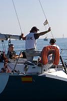 Arkitektonika .II TROFEO DESAFÍO ESPAÑOL - Club Náutico Español de Vela, Port America's Cup, Valencia, España/Spain. 7th to the 9th of November 2008. RN crucero