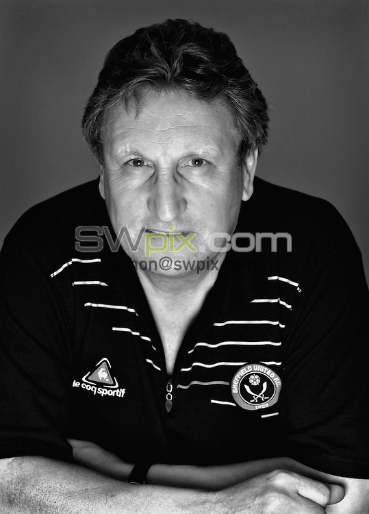 Pix by Ben Duffy/SWpix.com.....Niel Warnock...31/01/06. .?COPYRIGHT PICTURE>>SIMON WILKINSON>>0870 0920092>>..Sheffield United manager Niel Warnock, pictured at the clubs training ground in Sheffield