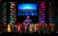 MIAMI, FL - OCTOBER 19: Stage Finale at The 2017 MUSA Awards at the James L Knight Center in Miami, Florida on October 19, 2017. Credit: Majo Grossi/MediaPunch /NortePhoto.com