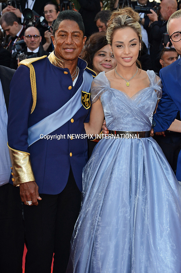 24.05.2017; Cannes, France: JERMAINE JACKSON AND MADAY VELAZQUEZ<br /> attends the screening of &ldquo;The Beguiled&rdquo; at the 70th Cannes Film Festival, Cannes<br /> Mandatory Credit Photo: &copy;NEWSPIX INTERNATIONAL<br /> <br /> IMMEDIATE CONFIRMATION OF USAGE REQUIRED:<br /> Newspix International, 31 Chinnery Hill, Bishop's Stortford, ENGLAND CM23 3PS<br /> Tel:+441279 324672  ; Fax: +441279656877<br /> Mobile:  07775681153<br /> e-mail: info@newspixinternational.co.uk<br /> Usage Implies Acceptance of Our Terms &amp; Conditions<br /> Please refer to usage terms. All Fees Payable To Newspix International