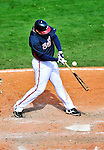 5 March 2010: Atlanta Braves' catcher David Ross in action during a Spring Training game against the Washington Nationals at Champion Stadium in the ESPN Wide World of Sports Complex in Orlando, Florida. The Braves defeated the Nationals 11-8 in Grapefruit League action. Mandatory Credit: Ed Wolfstein Photo