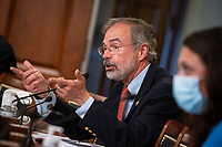 United States Representative Andy Harris (Republican of Maryland), speaks during a House Appropriations Subcommittee hearing on Capitol Hill in Washington, D.C., U.S., on Thursday, June 4, 2020. <br /> Credit: Al Drago / Pool via CNP/AdMedia