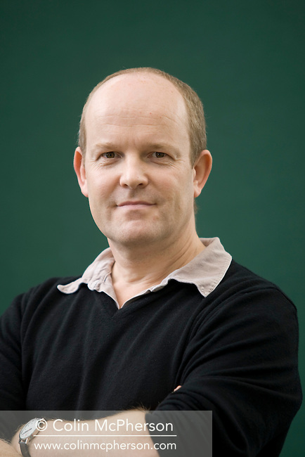 The Director of Britain's New Economics Foundation, Andrew Simms, pictured at the Edinburgh International Book Festival where he talked about his book entitled Tescopoly. The Book Festival was the World's largest literary event and featured writers from around the world. The 2007 event featured around 550 writers and ran from 11-27 August.
