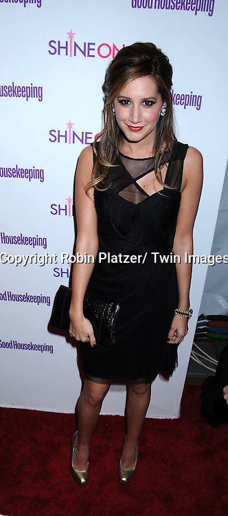 "Ashley Tisdale attending The Good Housekeeping ""Shine On"" Event .on April 12, 2011 at Radio City Music Hall in New York City. This event benefits The National Women's History Museum."