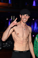 Scott Kelleher weighs in prior to a fight Friday night Terrell James, Thursday, May 5, 2016, in Philadelphia. (Derik Hamilton)