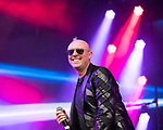 © Joel Goodman - 07973 332324 . 06/08/2017 . Macclesfield , UK . GLENN GREGORY performs at The Rewind Festival , celebrating 1980s music and culture , at Capesthorne Hall in Siddington . Photo credit : Joel Goodman