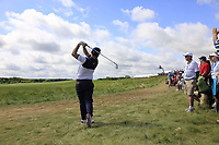Branden Grace (RSA) plays his 2nd shot from the rough during Saturday's Round 3 of the 117th U.S. Open Championship 2017 held at Erin Hills, Erin, Wisconsin, USA. 17th June 2017.<br /> Picture: Eoin Clarke | Golffile<br /> <br /> <br /> All photos usage must carry mandatory copyright credit (&copy; Golffile | Eoin Clarke)