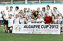 Germany team group (GER), MARCH 7, 2012 - Football / Soccer : The Algarve Women's Football Cup 2012, Germany celebrate after the match between Japan and Germany in Estadio Algarve, Faro, Portugal. (Photo by AFLO) [3604]..