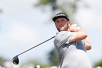 Jon Rahm (ESP) tees off on the 8th hole during the second round of the 118th U.S. Open Championship at Shinnecock Hills Golf Club in Southampton, NY, USA. 15th June 2018.<br /> Picture: Golffile | Brian Spurlock<br /> <br /> <br /> All photo usage must carry mandatory copyright credit (&copy; Golffile | Brian Spurlock)