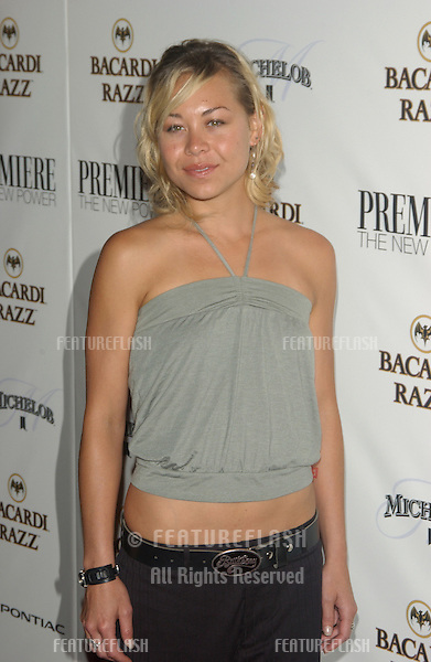 Actress SANOE LAKE at party in Hollywood for Premiere magazine's Premiere The New Power issue..June 2, 2004
