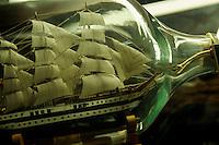 Deutschland, Schleswig-Holstein, Buddelschiffmuseum in Wedel bei Hamburg