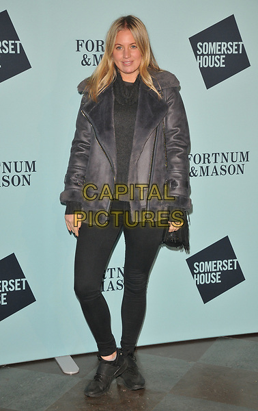 Marissa Montgomery at the Skate at Somerset House wtih Fortnum &amp; Mason VIP launch party, Somerset House, The Strand, London, England, UK, on Tuesday 14 November 2017.<br /> CAP/CAN<br /> &copy;CAN/Capital Pictures