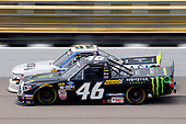 #46: Riley Herbst, Kyle Busch Motorsports, Toyota Tundra Monster Energy/Advance Auto Parts and #02: Tyler Dippel, Young's Motorsports, Chevrolet Silverado Jersey Filmmaker