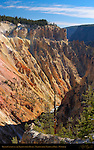 Grand Canyon of the Yellowstone River in Autumn, Yellowstone National Park, Wyoming