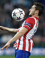 Atletico de Madrid's Koke during Champions League 2013/2014 match.March 11,2014. (ALTERPHOTOS/Acero)