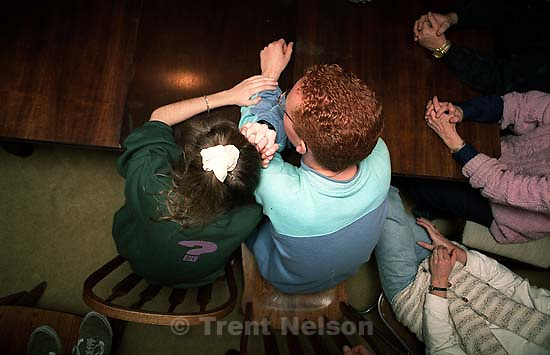 Trent feet and April Nelson and Jason McClean.<br />