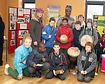 Teacher and Students from St. Joseph's CBS Sundays Gate with Elizabeth Oniwona from the African Choir and Pauline O'Neill from the Parish Pastural Council at the Barbican Parish Centre Open Day...Photo NEWSFILE/Jenny Matthews.(Photo credit should read Jenny Matthews/NEWSFILE)....This Picture has been sent you under the condtions enclosed by:.Newsfile Ltd..The Studio,.Millmount Abbey,.Drogheda,.Co Meath..Ireland..Tel: +353(0)41-9871240.Fax: +353(0)41-9871260.GSM: +353(0)86-2500958.email: pictures@newsfile.ie.www.newsfile.ie.FTP: 193.120.102.198.