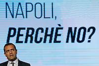 ATTENZIONE IMMAGINA ALTERATA <br /> Il Sindaco di Napoli Luigi De Magistris partecipa ad un convegno di Confindustria a Napoli