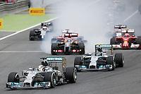 BARCELONA, ESPANHA, 11.05.2014 - F1 - GP DA ESPANHA -  O piloto britânico Lewis Hamilton, da Mercedes, durante o Grande Prêmio da Espanha de Fórmula 1, no circuito da Catalunha, em Montmelo, nos arredores de Barcelona, neste domingo (11). (Foto: Pixathlon / Brazil Photo Press).