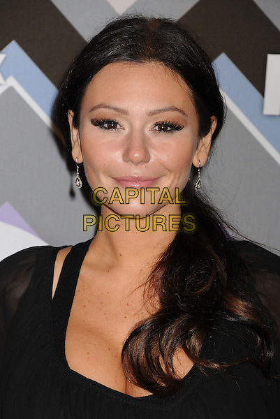 "Jenni ""JWoww"" Farley.arriving at the 2013 TCA Winter Press Tour - FOX All-Star Party at The Langham Huntington Hotel and Spa in Pasadena, California, USA, .January 8th, 2013.   .portrait headshot black eyelashes .CAP/ROT/TM.©Tony Michaels/Roth Stock/Capital Pictures"