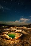 Yellowstone's Heart Spring & Stars©JMacCausland'12