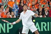 08-05-10, Tennis, Zoetermeer, Daviscup Nederland-Italie, Dubbles  Igor Sijsling