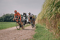 "the race leaders<br /> <br /> Antwerp Port Epic 2018 (formerly ""Schaal Sels"")<br /> One Day Race:  Antwerp > Antwerp (207 km; of which 32km are cobbles & 30km is gravel/off-road!)"
