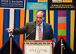 Hempstead, New York, USA. September 13, 2016. DAVID AXELROD, CNN Senior Political Commentator and Democratic strategist who served as Obama Senior Advisor, is the Signature Debate Speaker on The Evolving Media and Political Landscape, at Hofstra University, which will host the first Presidential Debate, between H.R. Clinton and D. J. Trump, scheduled for later that month on September 26. Hofstra is first university ever selected for 3 consecutive U.S. presidential debates; Hofstra; university; universities; college; colleges