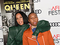 """14 November 2019 - Hollywood, California - Melina Matsoukas, Lena Waithe. AFI FEST 2019 Presented By Audi – """"Queen & Slim"""" Premiere held at TCL Chinese Theatre. Photo Credit: Billy Bennight/AdMedia"""