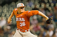 Starting pitcher Nathan Thornhill #36 of the Texas Longhorns in action against the Rice Owls at Minute Maid Park on March 2, 2012 in Houston, Texas.  The Longhorns defeated the Owls 11-8.  Brian Westerholt / Four Seam Images